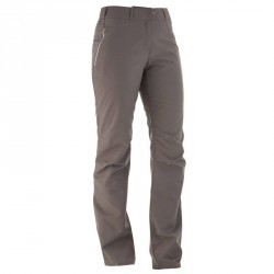 Pantalon de randonnée femme SH500 chaud Gris