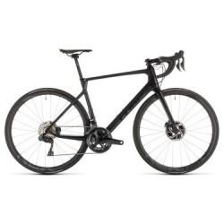 Vélo de Route Cube Agree C:62 SLT Disc Shimano Ultegra Di2 11V 2019 Noir / Gris