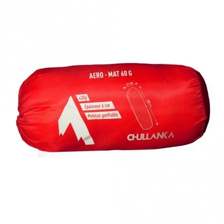 Matelas gonflable Chullanka, très confortable grâce à ses 6 cm d'épaisseur