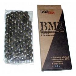 Chaîne 1/3 vitesses RENF BMX/VAE 96 maillons chrome