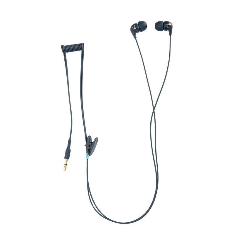 Kit écouteurs MP3 étanches Nabaiji bleu