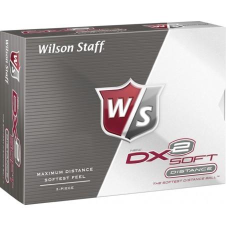 Balles de golf   WILSON BALLES DX2 SOFT