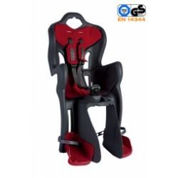 BELLELLI porte bébé arrière B-ONE fixation sur porte bagage couleur noir