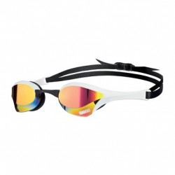 ARENALUNETTES DE NATATION COBRA ULTRA MIRROR RED REVO/WHITE