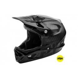 Casque Intégral Fly Racing Werx Mips Noir Brillant / Noir Mat 2019