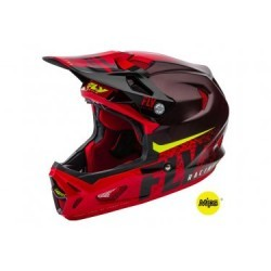Casque Intégral Fly Racing Werx Mips Noir / Rouge 2019