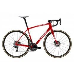 Vélo de Route Trek Emonda SLR 9 Disc Shimano Dura Ace Di2 11V 2019 Rouge / Blanc