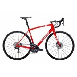 Vélo de Route Trek Emonda SL 6 Disc Shimano Ultegra 11V 2019 Rouge / Blanc