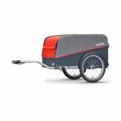 Remorque Croozer Cargo 16  2018 campfire red timon lat. attel.   bâche .