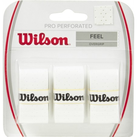 GRIP   WILSON PRO OVERGRIP PERFORATED WH