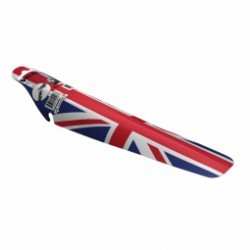 VELOX  garde boue arrière à clip motif drapeau grande bretagne