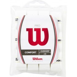GRIP  adulte WILSON PRO OVERGRIP PERF 12PK WH
