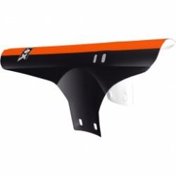 VELOX  garde boue avant collier couleur noir et orange