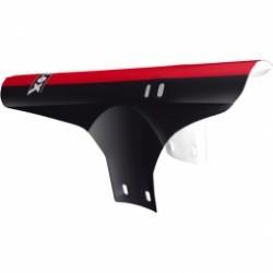 VELOX  garde boue avant collier couleur noir et rouge