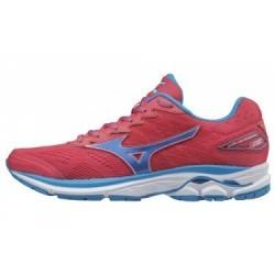 Chaussures de Running Femme Mizuno Wave Rider 20 Rose / Bleu