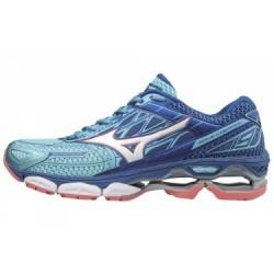 Chaussures de Running Femme Mizuno Wave Creation 19 Bleu / Bleu