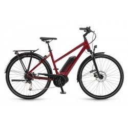 Vélo de Ville Électrique Winora Sinus Tria 9 Shimano Alivio/Altus 9V Rouge 2019