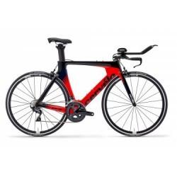 Vélo de Triathlon Cervelo P3 Rim Shimano Ultegra 11V 2019 Rouge / Noir / Bleu