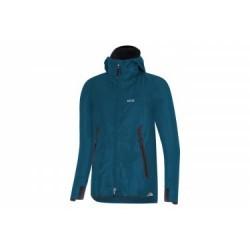 GORE® H5 Women GORE-TEX ShakeDry Hooded Jacket Bleu