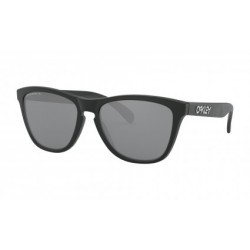 Lunettes Oakley Frogskins Matte Black / Prizm Black Polarized / Ref. OO9013-F755