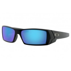 Lunettes Oakley Gascan Matte Black / Prizm Sapphire Polarized / Ref. OO9014-5060