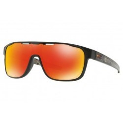 Lunettes Oakley Crossrange Shield Prizmatic Collection / Matte Black Prizmatic / Prizm Ruby / Ref. OO9387-0931