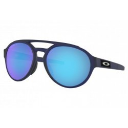 Lunettes Oakley Forager / Matte Translucent Blue / Prizm Sapphire Polarized / Ref. OO9421-0658