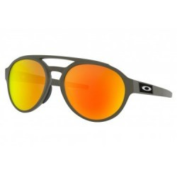 Lunettes Oakley Forager Matte Olive / Prizm Ruby Polarized / Ref. OO9421-0758