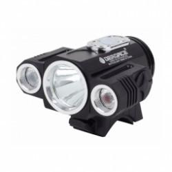 X3 HD LED - Feu vélo avant haute luminosité 7000 lumens .