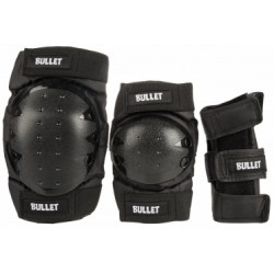 BULLET ADULT COMBO (PACK DE PROTECTIONS ADULTE) BLACK