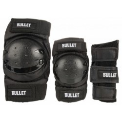 BULLET JUNIOR COMBO (PACK DE PROTECTIONS ENFANT) BLACK