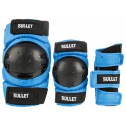 BULLET JUNIOR COMBO (PACK DE PROTECTIONS ENFANT) BLUE