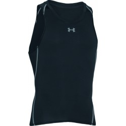 1003N-TEXT PERF TSHIRT SM H  homme UNDER ARMOUR ARMOUR HG COMP TANK-BLK