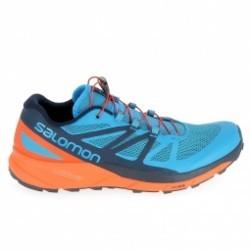 Chaussure de runningRando - Trail SALOMON Sense Ride Bleu