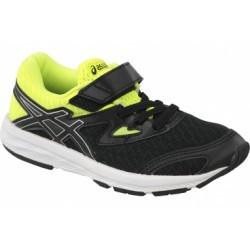 Asics Amplica PS C809N-9093 Garçon chaussures de running Noir