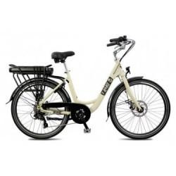 Vélo de Ville Électrique T-Bird Miami Panaché 7V Blanc 2019