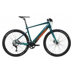 Vélo de Ville Électrique Sunn Volt S2 Shimano Deore M6000 10V Vert / Orange 2019
