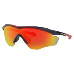 Lunettes Oakley M2 Frame XL Snapback Collection / Navy / Prizm Ruby / Ref. OO9343-1245