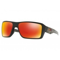Lunettes Oakley Double Edge Prizmatic Collection / Matte Black Prizmatic / Prizm Ruby Polarized / Ref. OO9380-2366