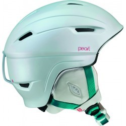 casque ski   SALOMON HELMET PEARL PLUS WHITE