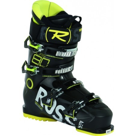 Chaussures ski alpin  homme ROSSIGNOL ALIAS 80 - BLACK YELLOW