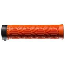 Poignées Bontrager XR Trail Comp 130mm Orange