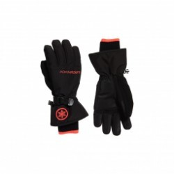Gants De Ski Superdry Ultimate Snow Service Black / Coral
