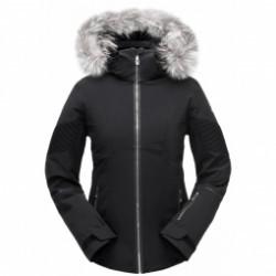 Veste De Ski Spyder Diabla Real Fur Black