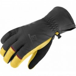 Gants De Ski Salomon Gloves Propeller Dry Black Natural