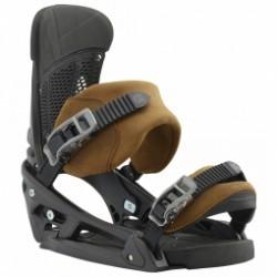 Fixation De Snowboard Burton Malavita Est Leather Roughneck