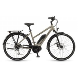 Vélo de Ville Femme Winora Sinus Tria 8 Shimano Acera / Altus 8V Beige