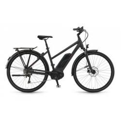 Vélo de Ville Femme Electrique 2018 Winora Sinus Tria 10 Shimano Deore 10V Noir