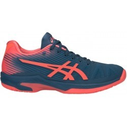 CHAUSSURES BASSES Tennis femme ASICS SOLUTION SPEED FF, BLEU, 36