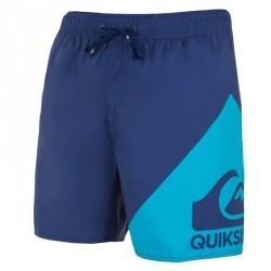 Boardshort court QUIKSILVER Wave Blue
